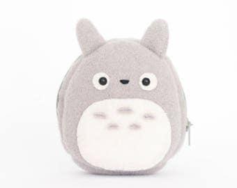 Totoro Studio Ghibli Kawaii Sewn Felt Coin Purse/Pouch / Bag