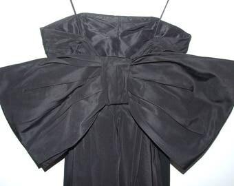 Ralph Lauren Collection purple Label Black Evening Dress Prom Dress