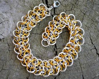 Sagittarian Chainmaille Bracelet