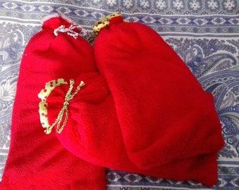 large heating pad fleece blanket red 2-3 minute microwave