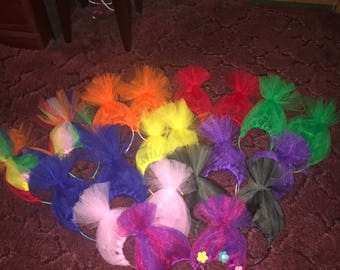 Troll headbands