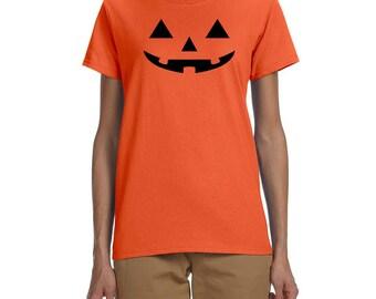 Halloween Pumpkin Women's T-shirt