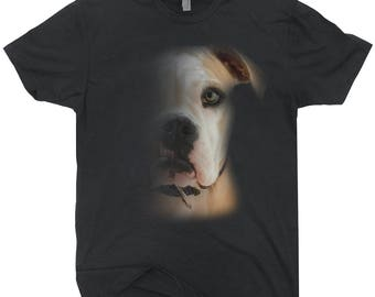 Faded Pit Bull T-shirt For Dog Owners