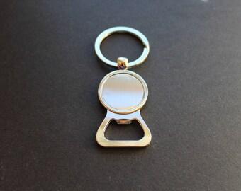 Port key bottle opener. 25 mm / cabochon. for men