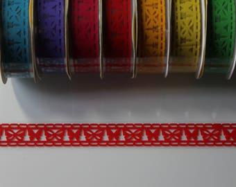 1 Ribbon masking adhesive tape, butterfly, multi colored pattern