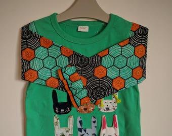 Kid's Ankara t-shirt