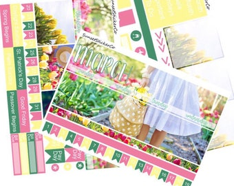 March Erin Condren Monthly Kit