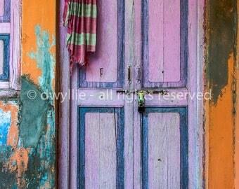 Blue City Door