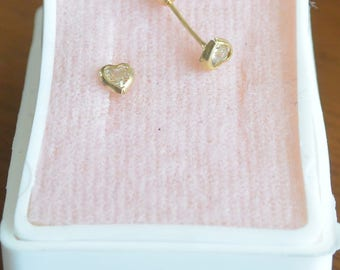 Gold Earings 10k Real Gold Baby size several styles