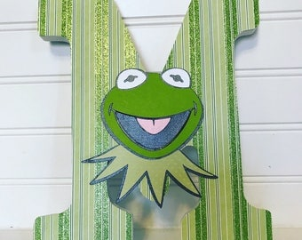 Muppets wall letters, The Muppet Show, Muppets decorations, Kermit the Frog, Muppets name set, Muppets room decor, Classroom, Teacher Gift