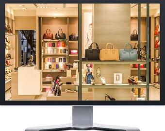 Clothing Style Fashion Boutique WordPress E-Commerce Website Design