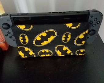 Free Shipping!! Nintendo Switch Dock Sock Sleeve Batman
