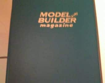 RARE 1989 Model Builder Magazine Complete Year 12 Issues Inside Official Binder