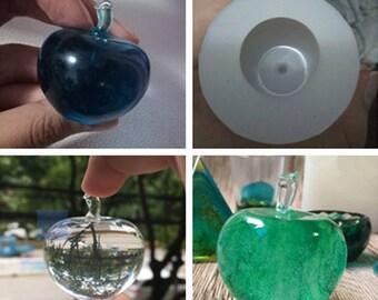 Transparent MOLD, Clear Silicone MOLD, Hemispherical,apple, Jewellery DIY, Resin Jewellery