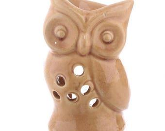 Yellow ceramic OWL oil burner