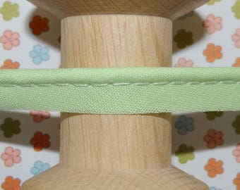 Light green piping the meter