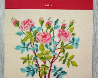 Embroidery book - Roses and flowering branches
