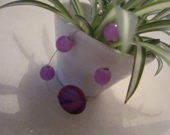 Parma violet simple fashion bracelet
