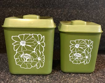 Plastic Kitchen Canisters