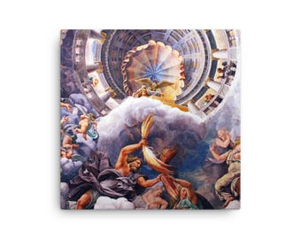 Gods on Mount Olympus - Canvas