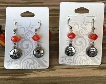 Good or Bad Witch earrings