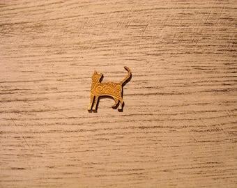 lot 3 kitten 1193 embellishment wooden creations