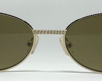 Cerruti 1881 CE0171 / Vintage Sunglasses / Brand New / Unworn / Made In Italy / Comes With Case / Gold Sunglasses