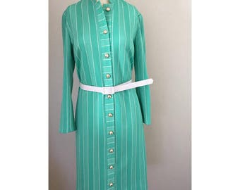Vintage Turquoise Style-Aire Dallas Dress