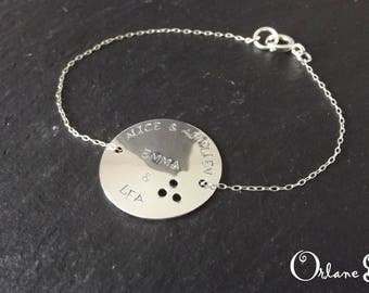 RESERVED ALEXANDRINE disc 32mm chain