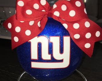 New York giants Christmas ornament NY