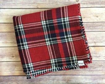 Plaid Sweater Blanket