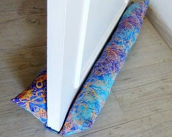 """Roll down door, double door DOUBLE fabric """"sea"""" door of 73 cm"""