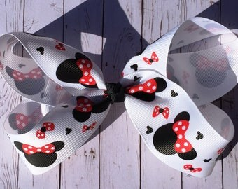 Minnie Mouse JoJo Style Hair Bow Disney