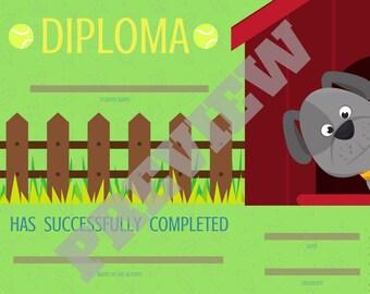 Diploma - Dog Edition