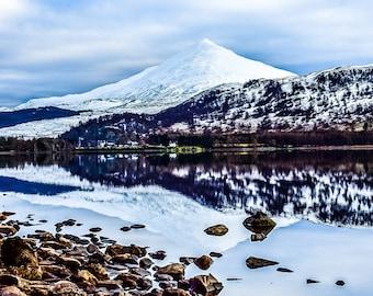 Views over Loch Rannoch in Scotland