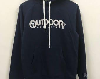 Vintage Outdoor Big Logo Spellout Hoodies Sweatshirts