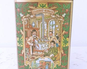 Vintage Albert Heijn tin from 1895