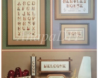 PDF Cross-Stitch Country Alphabet