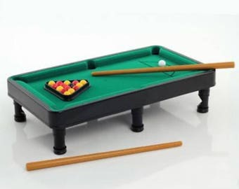 Office Antics Desktop Mini Tabletop Pool Table Office Gadget Toy Novelty Gift