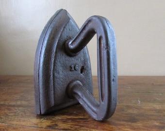 Antique Iron - Large Sad Iron - Vintage Sad Iron
