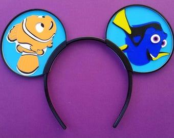 Nemo Finds Dory Ears