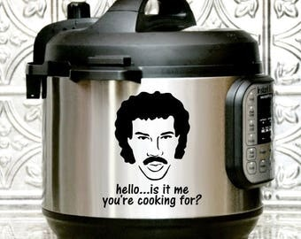 Instant Pot Decal, Hello