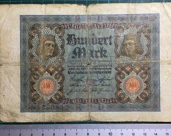 1 x Reichsbanknote - Hundert Mark von 1920 (N 5160542)