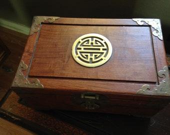 Vintage Chinese Jewelry Box