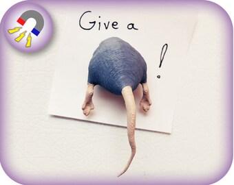 A Rat's Ass Magnet | 3D printed | Gag Gift Magnet