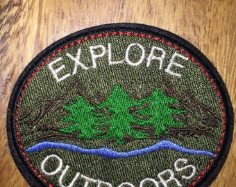 Explore Outdoors patch adventure wilderness nature