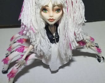 Monster High repaint spider custom ooak