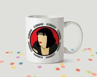 Pulp Fiction Ceramic Mug