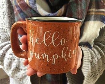 Hello Pumpkin Mug