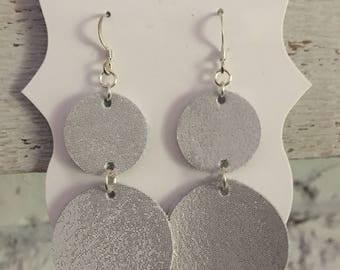 Dangle Leather Earrings